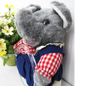【一元特賣會】可愛大象娃娃毛巾吊環.掛環