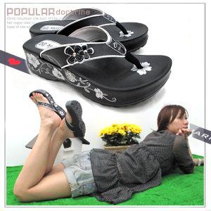 高貴亮麗百合夾腳拖鞋.涼鞋