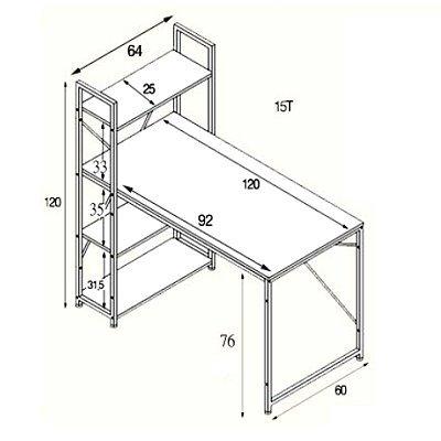 儿童高餐椅的结构图