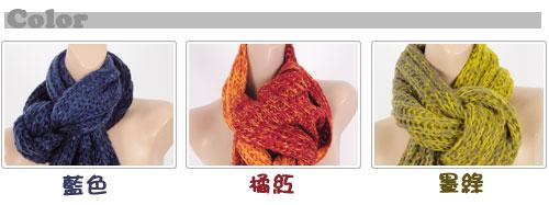 钓动物造型围巾图解